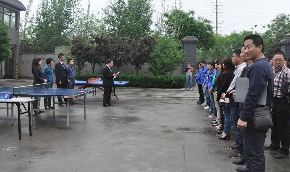 千赢新版app医药物流第二届春季乒乓球赛
